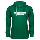 Adidas Climawarm Dark Green Team Issue Hoodie-Wordmark