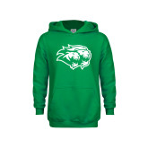 Youth Kelly Green Fleece Hoodie-Lions