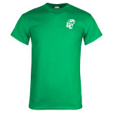 Kelly Green T Shirt-GC w Lions
