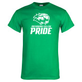 Kelly Green T Shirt-GC Pride Lions