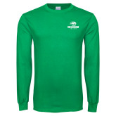 Kelly Green Long Sleeve T Shirt-Primary Mark