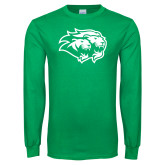 Kelly Green Long Sleeve T Shirt-Lions