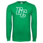 Kelly Green Long Sleeve T Shirt-GC