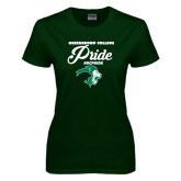 Ladies Dark Green T Shirt-#GCPRIDE