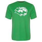 Performance Kelly Green Tee-Lions