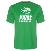 Performance Kelly Green Tee-Football