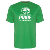 Performance Kelly Green Tee-Lacrosse