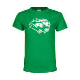 Youth Kelly Green T Shirt-Lions