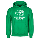 Kelly Green Fleece Hoodie-Poppy