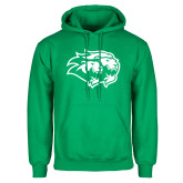 Kelly Green Fleece Hoodie-Lions
