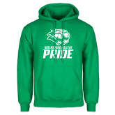 Kelly Green Fleece Hoodie-GC Pride Lions