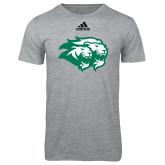 Adidas Sport Grey Logo T Shirt-Lions