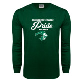 Dark Green Long Sleeve T Shirt-#GCPRIDE