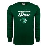 Dark Green Long Sleeve T Shirt-#GCPRIDE