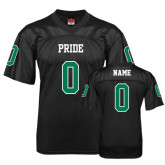 Replica Black Adult Football Jersey-Personalized