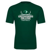 Performance Dark Green Tee-Football Field Design