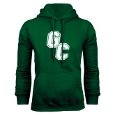 Dark Green Fleece Hood-GC