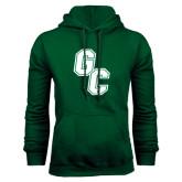 Dark Green Fleece Hood-GC