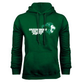 Dark Green Fleece Hood-Poppy