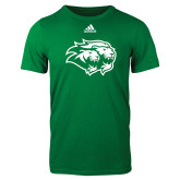 Adidas Kelly Green Logo T Shirt-Lions