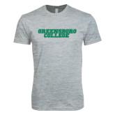 Next Level SoftStyle Heather Grey T Shirt-Wordmark