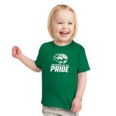 Toddler Kelly Green T Shirt-GC Pride Lions