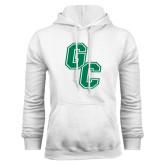 White Fleece Hoodie-GC
