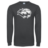 Charcoal Long Sleeve T Shirt-Lions