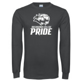 Charcoal Long Sleeve T Shirt-GC Pride Lions