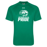 Under Armour Kelly Green Tech Tee-GC Pride Lions