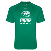 Under Armour Kelly Green Tech Tee-Football
