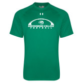 Under Armour Kelly Green Tech Tee-Football Arches