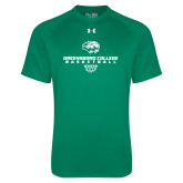 Under Armour Kelly Green Tech Tee-Basketball Sharp Net