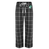 Black/Grey Flannel Pajama Pant-GC w Lions