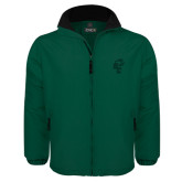 Dark Green Survivor Jacket-Official Logo