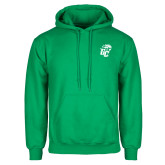 Kelly Green Fleece Hoodie-GC w Lions