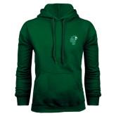Dark Green Fleece Hood-Official Logo