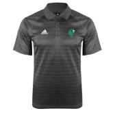 Adidas Climalite Charcoal Jaquard Select Polo-Official Logo
