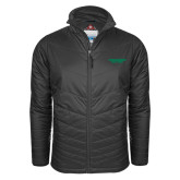Columbia Mighty LITE Charcoal Jacket-Solid Wordmark