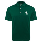 Dark Green Dry Mesh Polo-GC