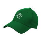 Kelly Green Heavyweight Twill Pro Style Hat-GC