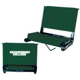 Stadium Chair Dark Green-Wordmark