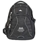 High Sierra Swerve Compu Backpack-Greensboro College