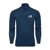 Syntrel Navy Interlock 1/4 Zip-Victory A