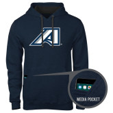 Contemporary Sofspun Navy Heather Hoodie-Victory A