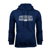 Navy Fleece Hood-Golf
