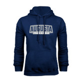 Navy Fleece Hoodie-Track and Field