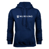 Navy Fleece Hood-Nursing