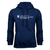 Navy Fleece Hood-Dental College of Georgia