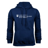 Navy Fleece Hoodie-Medical College of Georgia